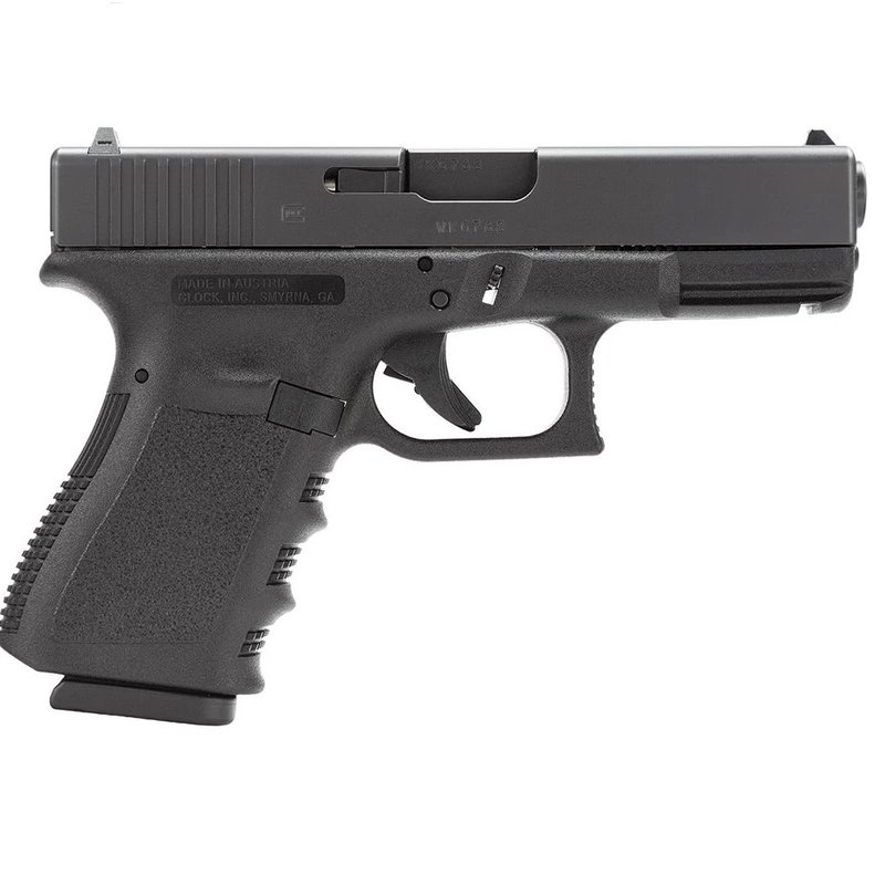 "Glock GLK G23 G3 40CAL& 9mm ""We The People"" backplate aftermarket trigger, night sights, 3 mags"