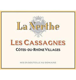 Chateau La Nerthe Cotes-du-Rhone Villages Les Cassagnes (2017)