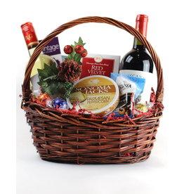 Vintage Wine Cellars Many Thanks Basket