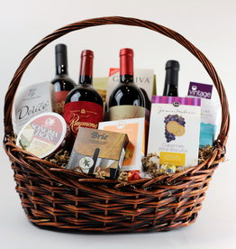 Vintage Wine Cellars Big and Bold Reds Basket