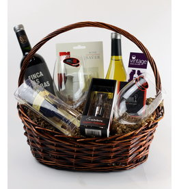Vintage Wine Cellars Wine Essentials Gift Basket