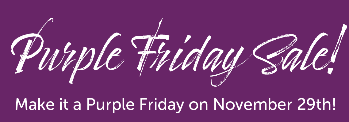 Purple Friday Deals at Vintage
