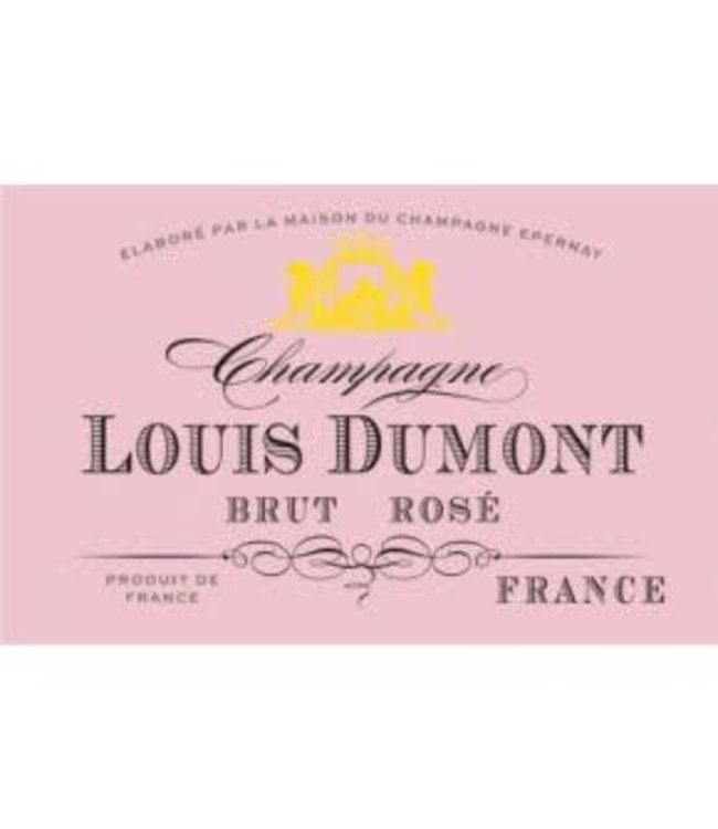 Louis Dumont Champagne Brut Rose (N.V.)