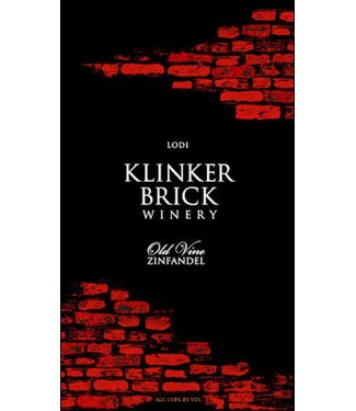 Klinker Brick Klinker Brick Zinfandel 'Old Vine' (2017)