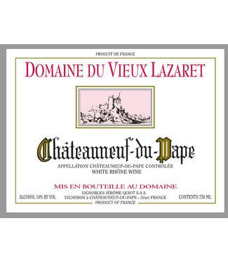 Domaine du Vieux Lazaret Domaine du Vieux Lazaret Chateauneuf-du-Pape Blanc (2018)