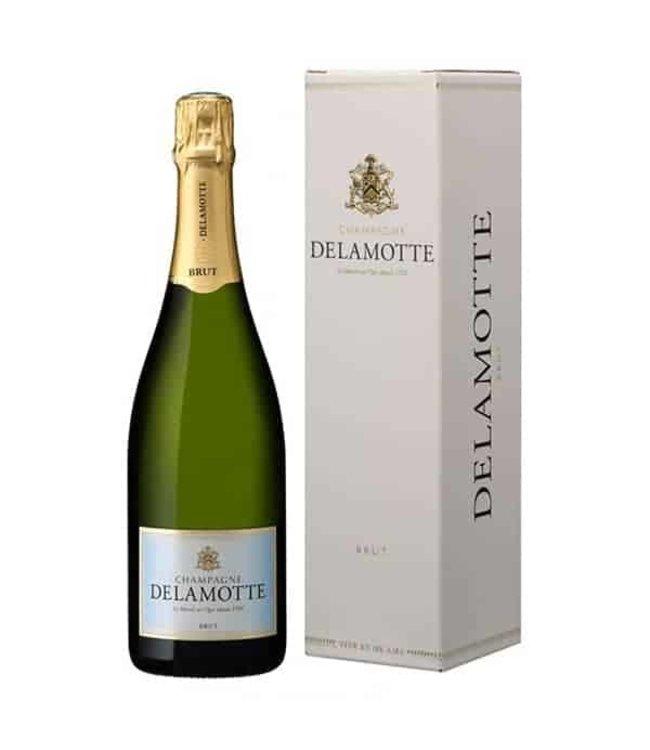 Delamotte Champagne Brut Grande Reserve (N.V.)