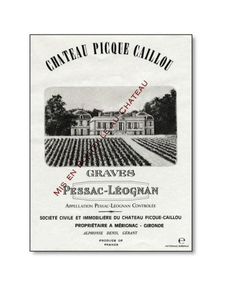 Chateau Picque Caillou Rouge (2016)