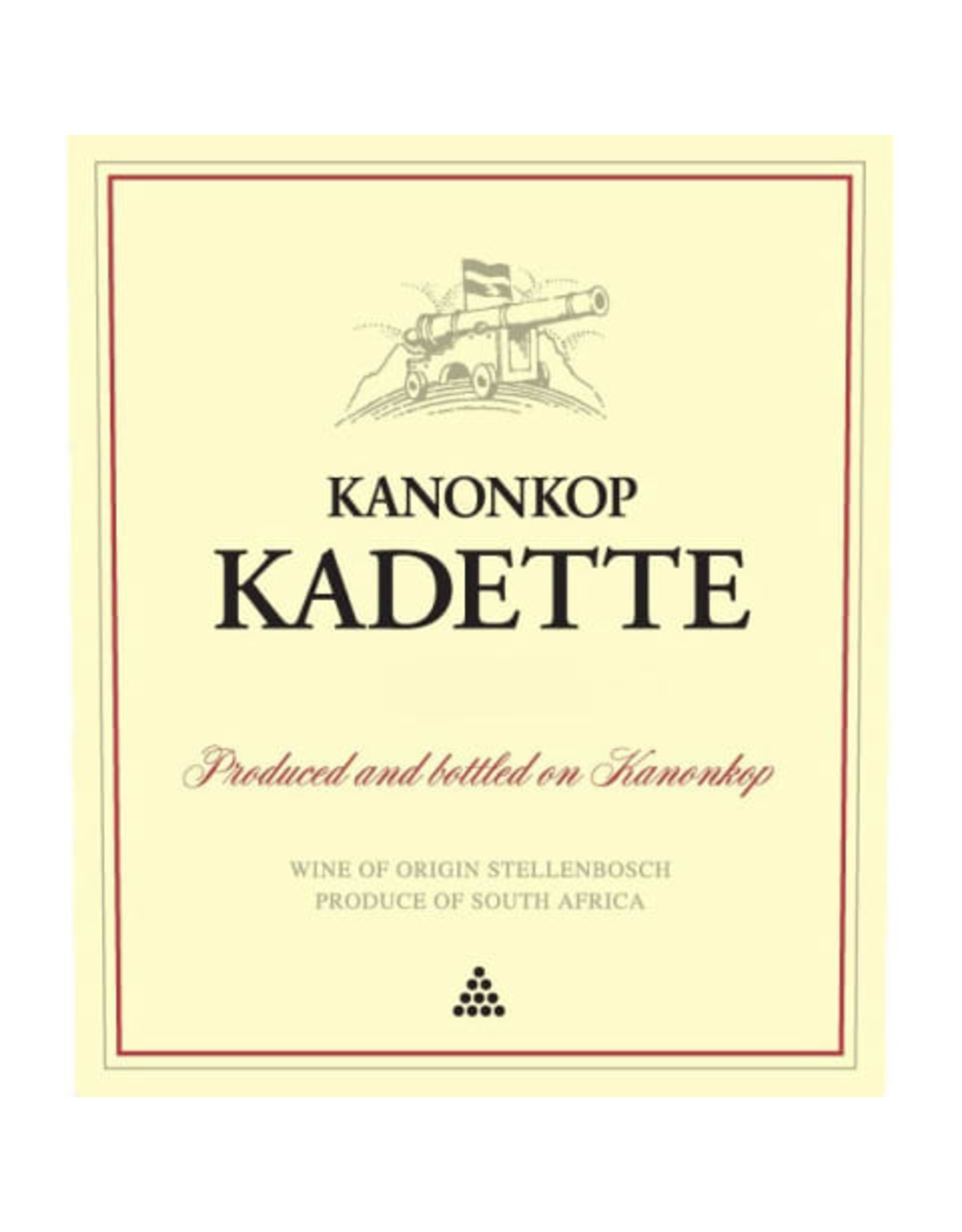 Kanonkop Kanonkop 'Kadette' Cape Blend (2018)