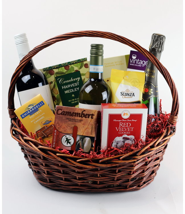 Vintage Wine Cellars It's a Celebration Basket