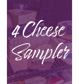 Vintage Wine Cellars 4 Cheese Sampler