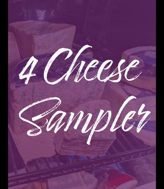 Vintage Wine Cellars 4 Cheese Sampler