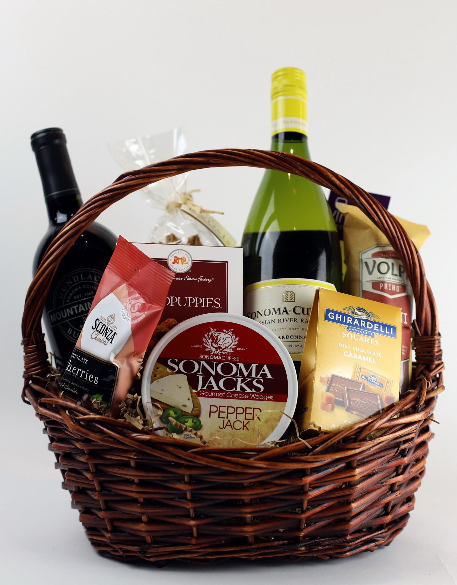 Vintage Wine Cellars Simply Sonoma Gift Basket