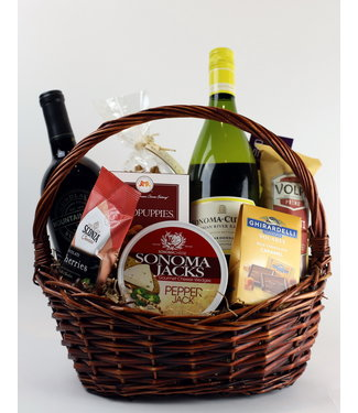Vintage Wine Cellars Simply Sonoma Gift Basket