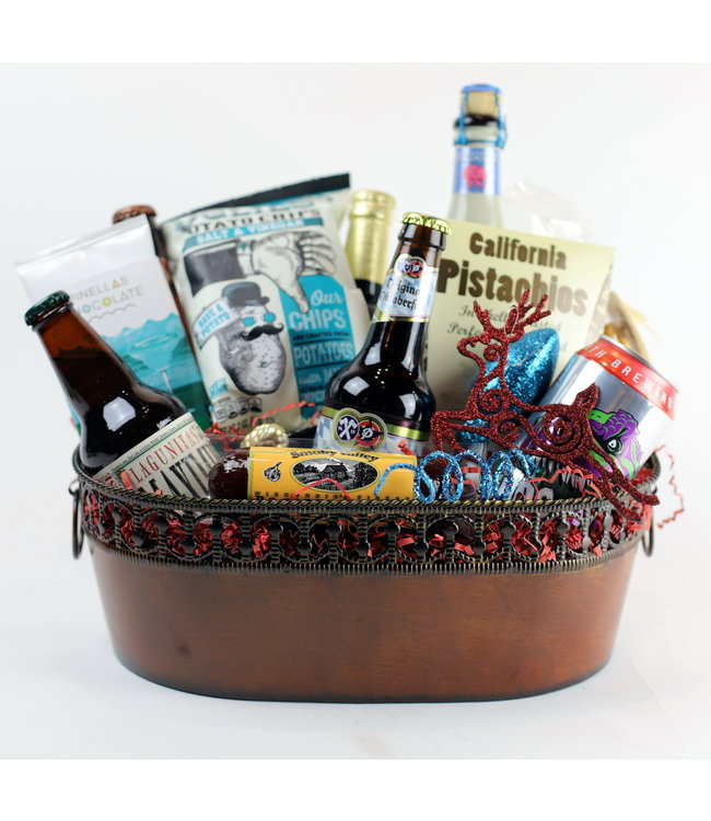 Beerly Legal Gift Basket