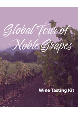 Virtual@Vintage Global Tour of Noble Grapes Tasting Kit