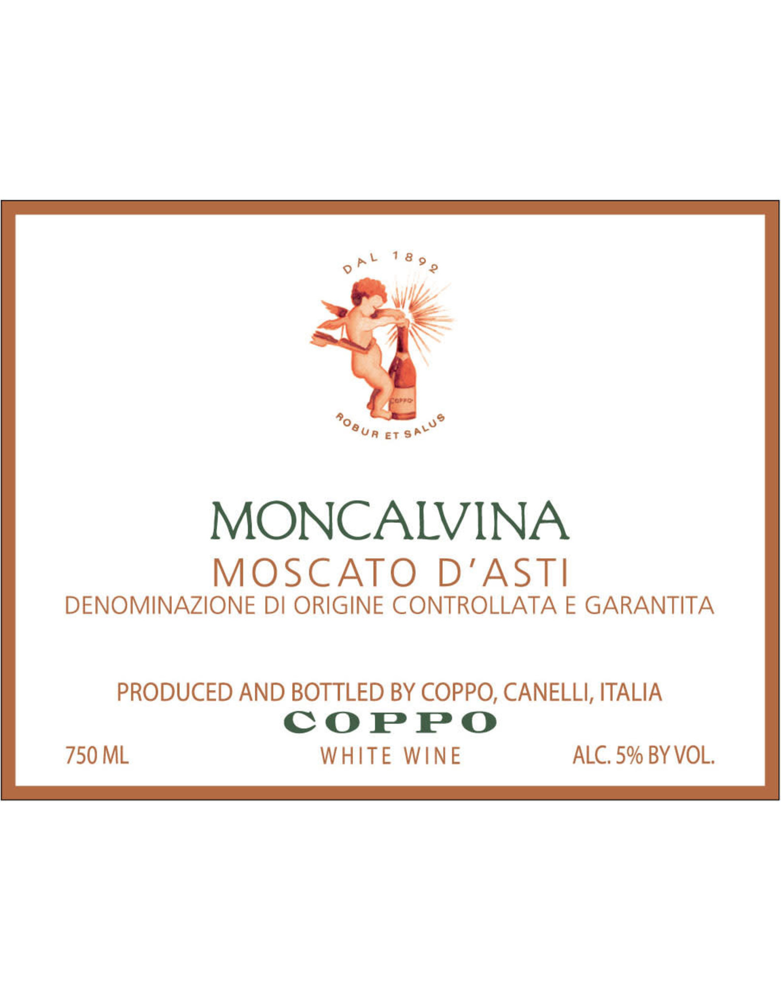 Coppo Coppo Moscato D'Asti Moncalvina (2018)