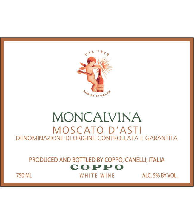 Coppo Moscato D'Asti 'Moncalvina' (2018)