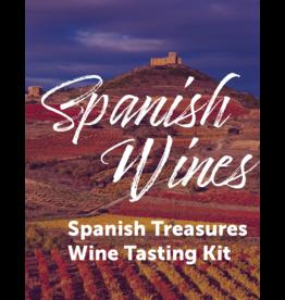 Virtual@Vintage Spanish Treasures Wine Tasting Kit