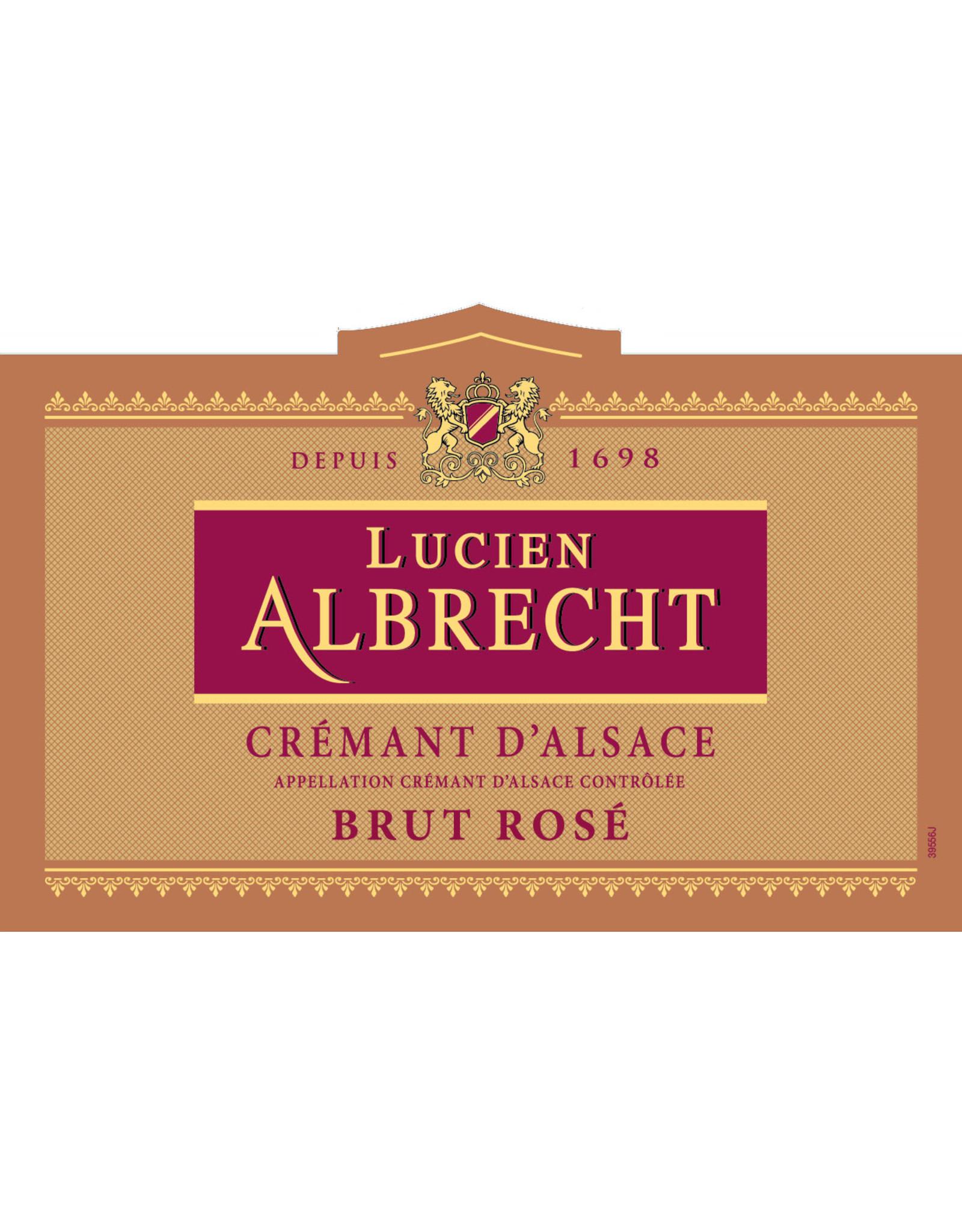 Lucien Albrecht Lucien Albrecht Cremant d'Alsace Brut Rose (N.V.)