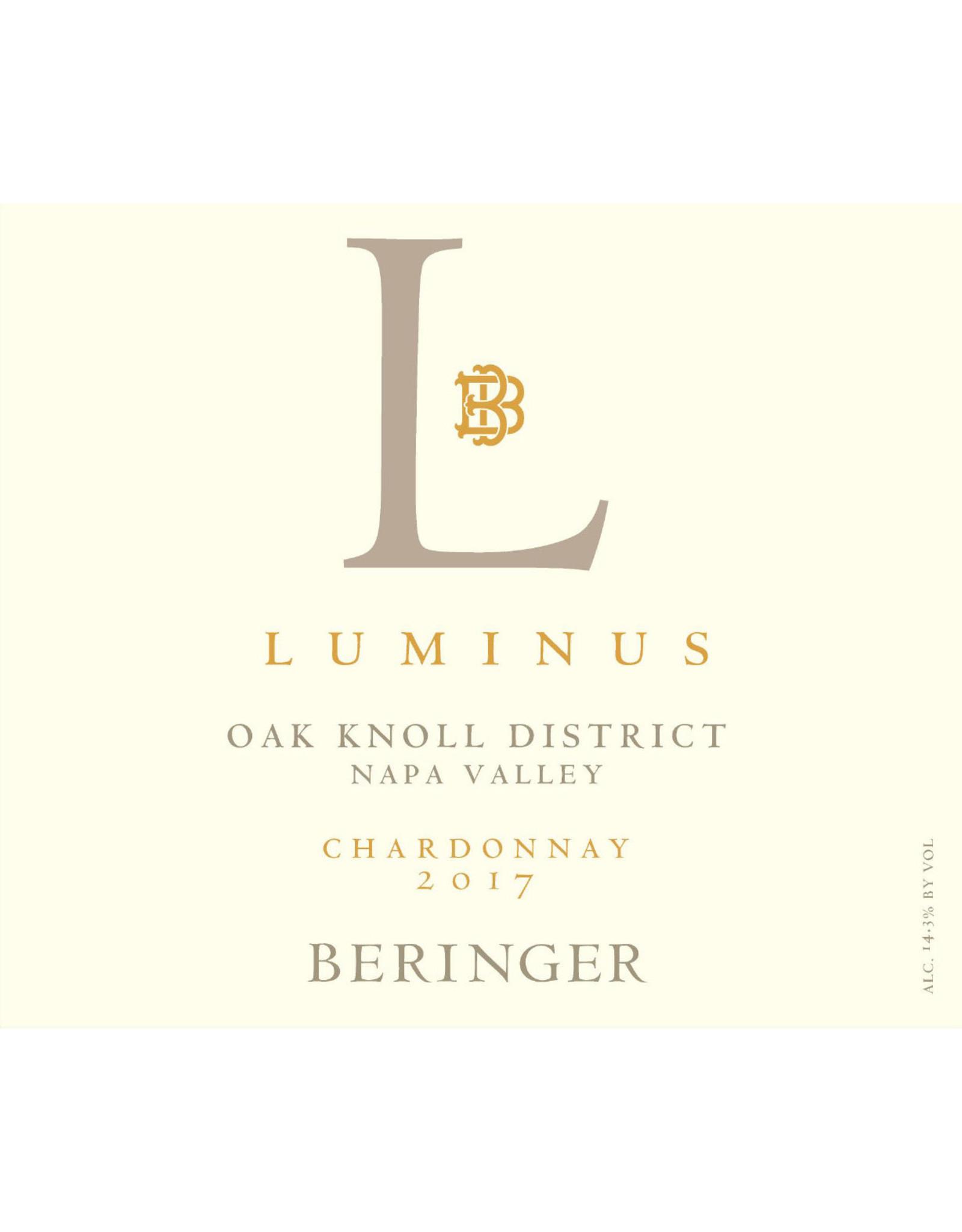 Beringer Vineyards Beringer Chardonnay 'Luminus' (2018)