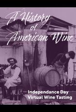 Vintage Virtual Tasting Virtual Wine Tasting Pack - July 3