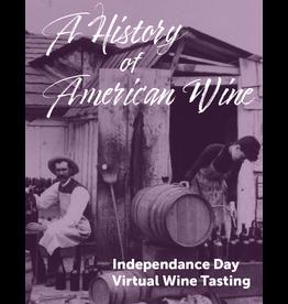 Vintage Virtual Tasting A History of American Wine Tasting Kit