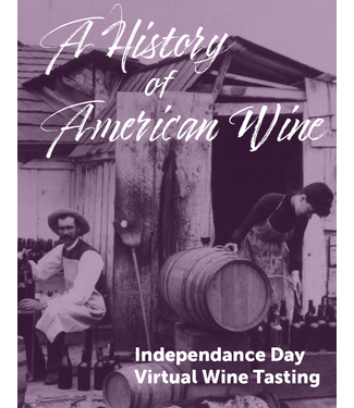 Vintage Virtual Tasting A History of American Wine Tasting Kit