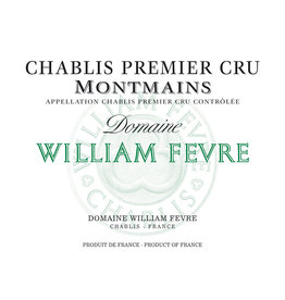 Domaine William Fevre Domaine William Fevre Chablis 1er Cru 'Montmains' (2011) 375ml