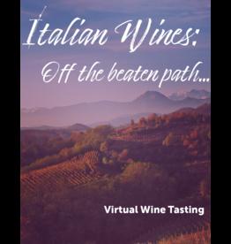 Virtual@Vintage Italian Wines Virtual Wine Tasting Pack