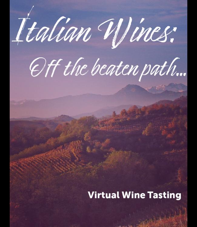 Italian Wines Tasting Kit