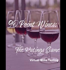 Virtual@Vintage 90 Point Ratings Virtual Wine Tasting Pack