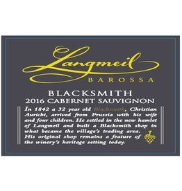Langmeil Langmeil Cabernet Sauvignon 'Blacksmith' (2016)