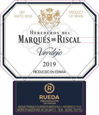Marques de Riscal Marques de Riscal Reuda Verdejo (2019)