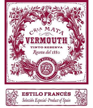 Cnia Mata Vermouth Tinto Reserva