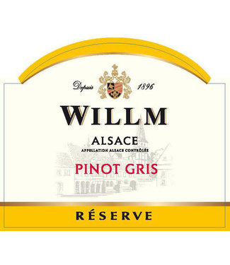 Willm Willm Pinot Gris 'Reserve' (2018)