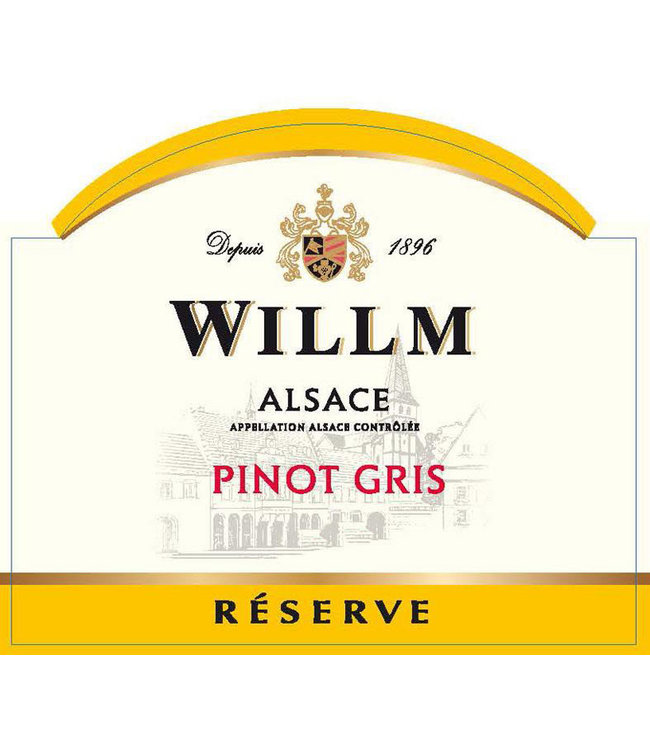 Willm Pinot Gris 'Reserve' (2018)