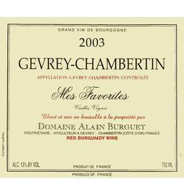 Domaine Alain Burguet Domaine Alain Burguet Gevrey-Chambertin Mes Favorites Vielle Vignes (2012)