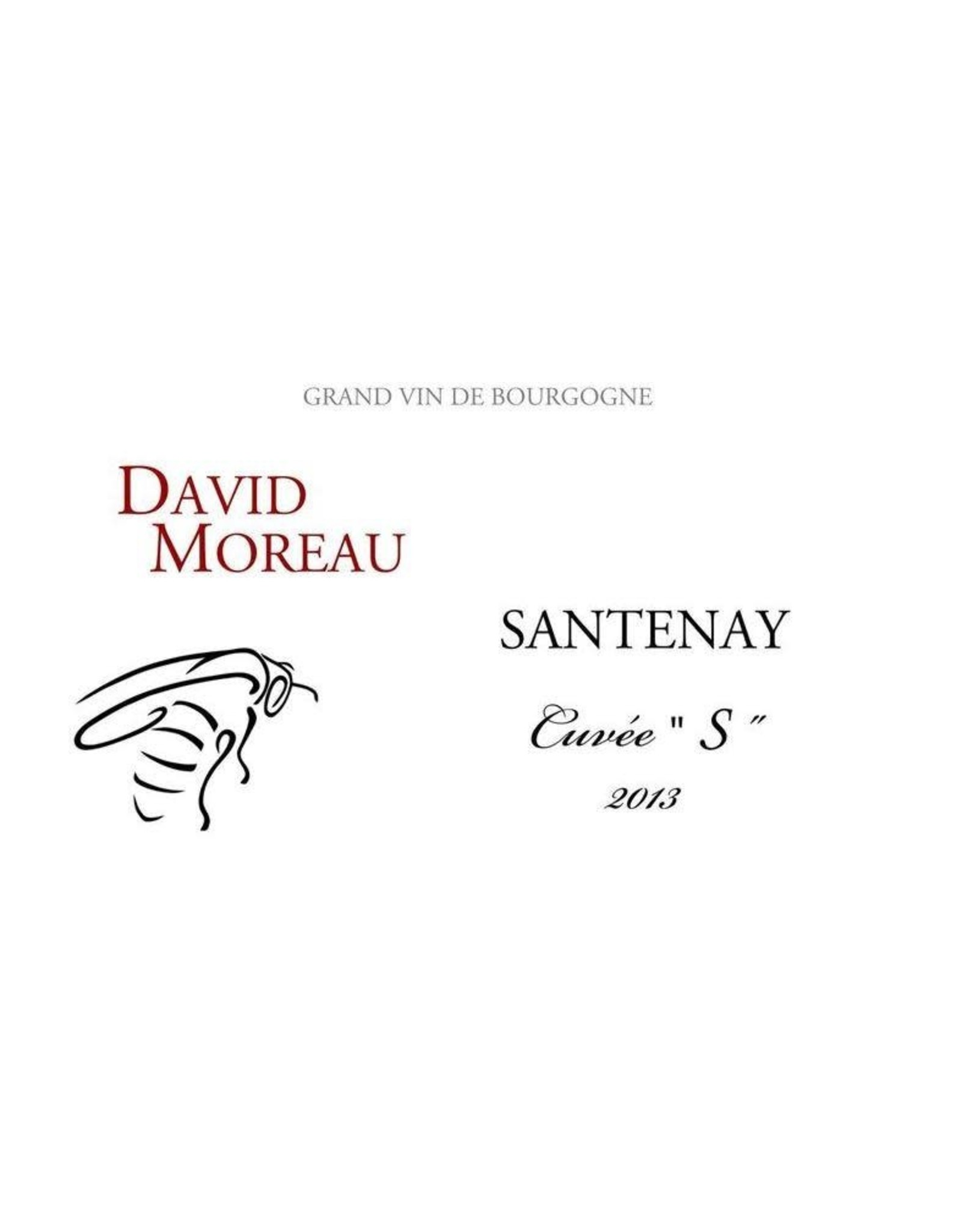 David Moreau David Moreau Santenay Cuvee S (2014)