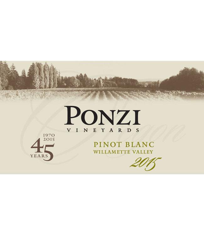 Ponzi Vineyards Pinot Blanc (2017)