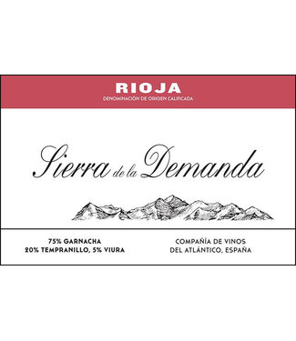 Compania de Vinos del Atlantico Sierra de la Demanda Rioja Tinto (2013)