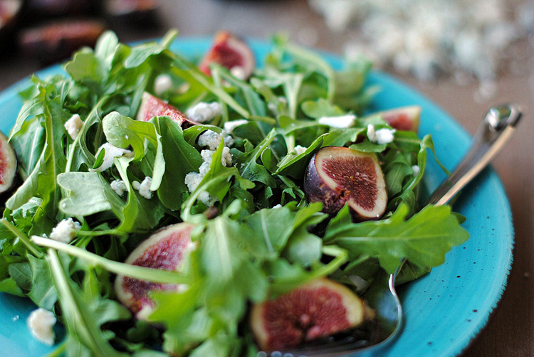 Pairings: Fig Salad and White Bordeaux