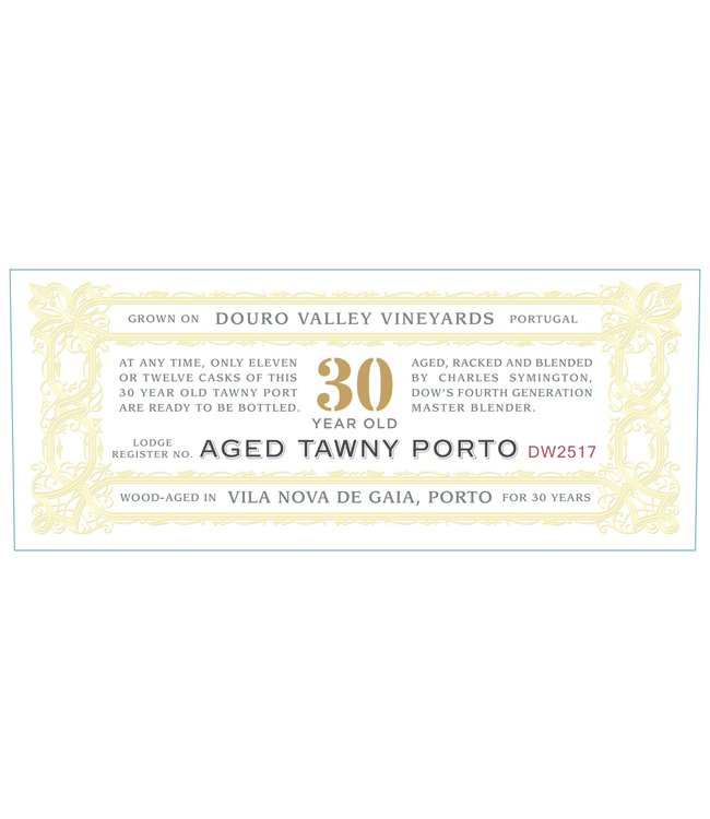 Dow's Porto 30 Year Old Tawny Port (N.V.)