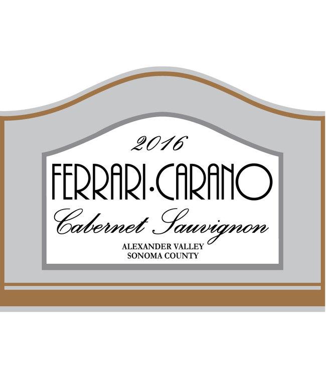 Ferrari Carano Cabernet Sauvignon 2016 Vintage Wine Cellars