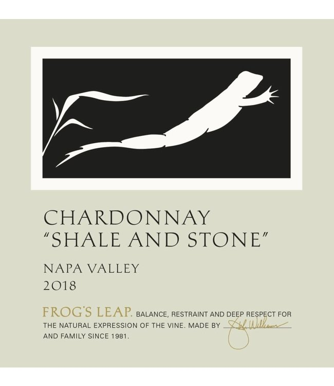 Frog's Leap Chardonnay 'Shale and Stone' (2018)