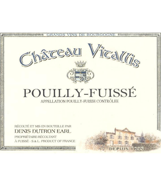 Chateau Vitallis Pouilly-Fuisse (2018)