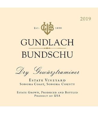 Gundlach Bundschu Gundlach Bundschu Gewurztraminer (2019)