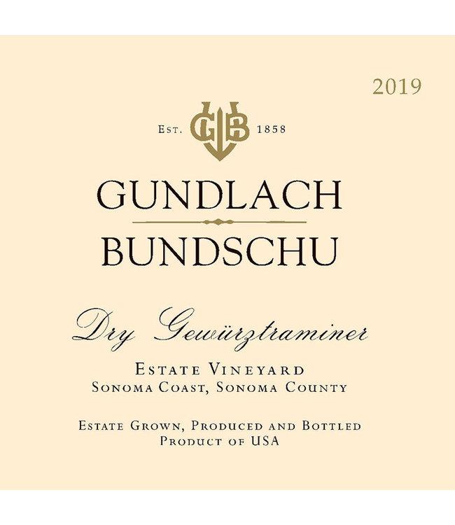 Gundlach Bundschu Gewurztraminer (2019)