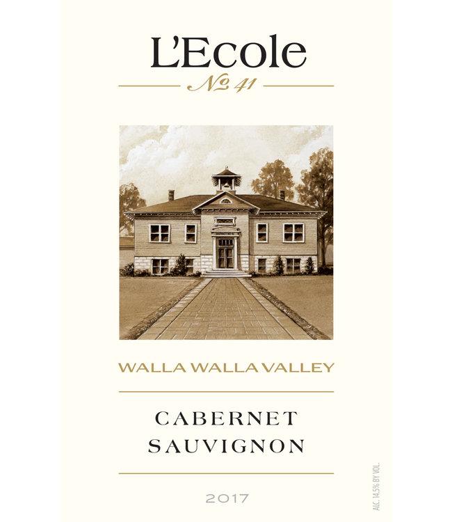 L'Ecole No.41 Cabernet Sauvignon (2017)