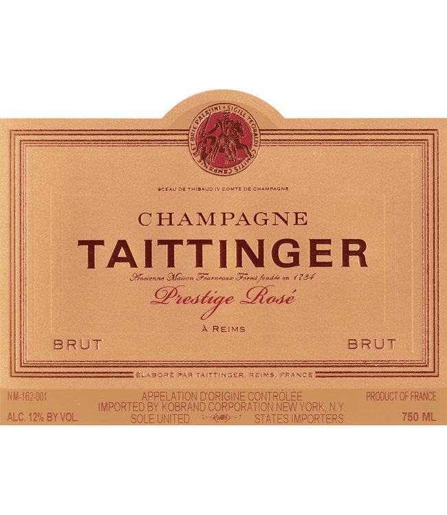 Taittinger Champagne Brut Prestige Rose (N.V.)