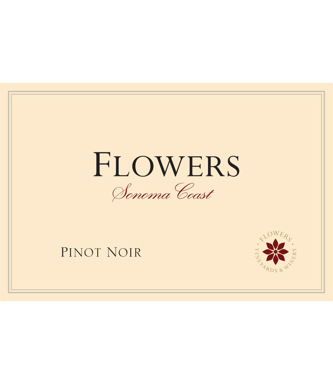 Flowers Winery Pinot Noir 'Sonoma Coast' (2018)